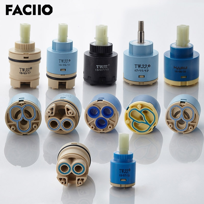 35mm 40mm Ceramic Valve Plug Mixer Hot And Cold Water Faucet Switch Accessories